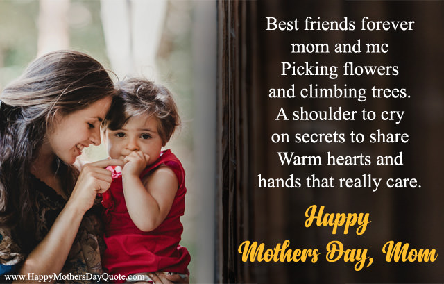 Best Friends Forever Mom Me Quotes from Daughter