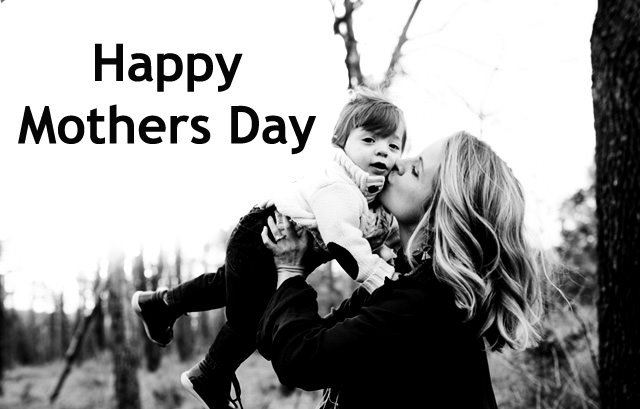 Black and White Vintage Mothers Day Photos