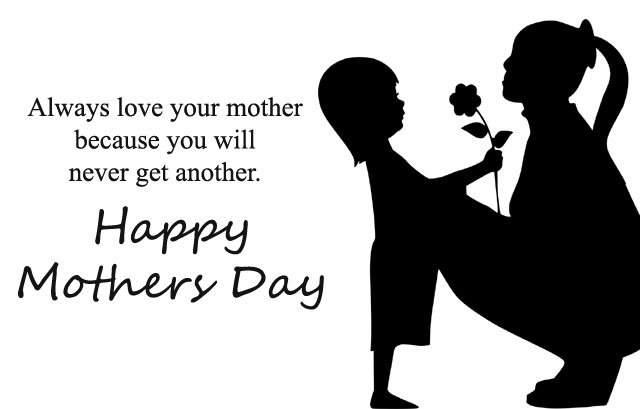 Cute Daughter Giving Rose to Mother on Mom Day