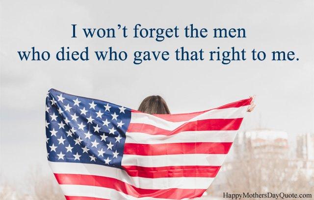 Emotional Memorial Day Sayings
