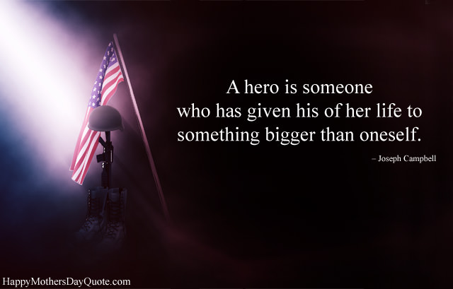 Hero Quotes for Memorial Day