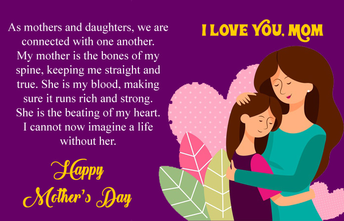 Mothers Day Love Quotes from Daughter
