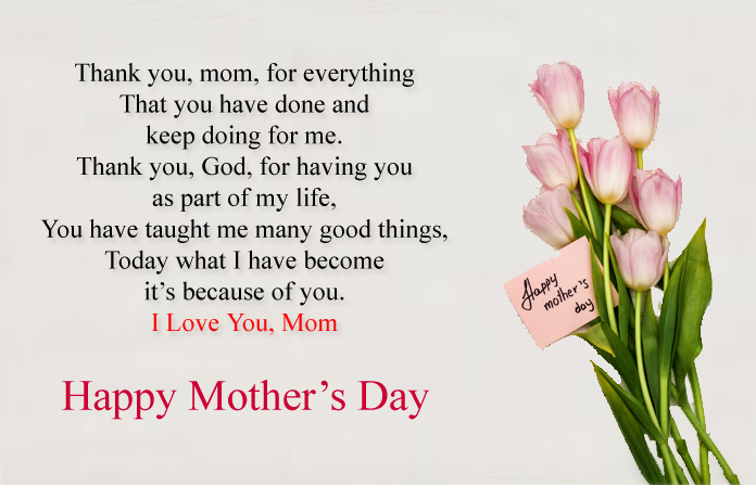 Mothers Day Thank You Quotes from Daughter