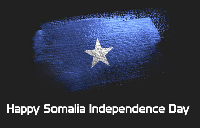 Independence Day Images with Somalia Flag