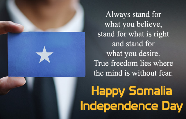 Inspirational Patriotic Somalia Independence Day Quotes