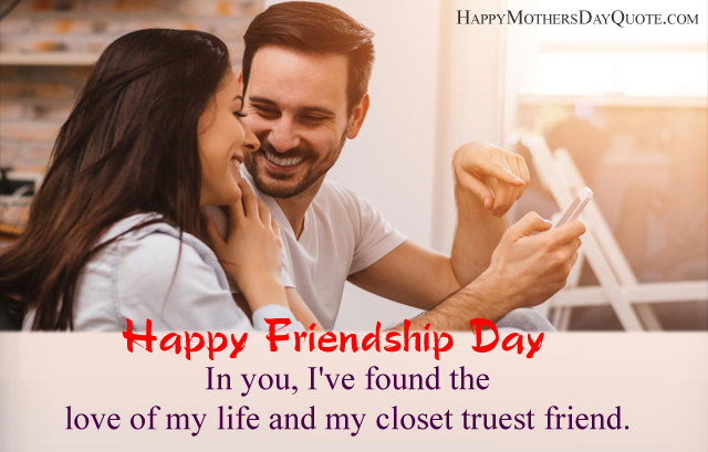 Best Close Friend Love Quotes for Friendship Day
