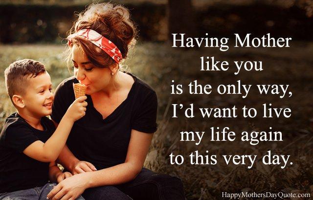 Having Mother Like You
