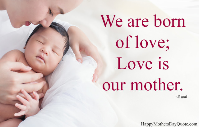 Love is our Mother
