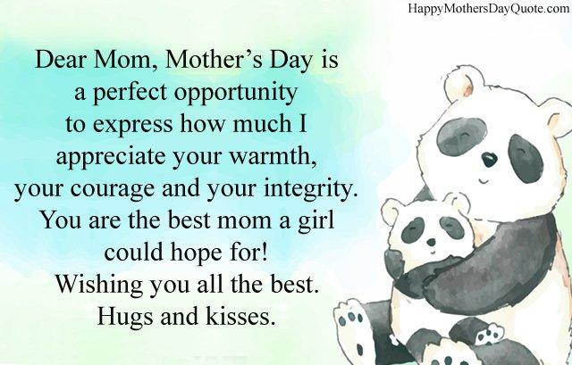 Appreciate Message for Momv