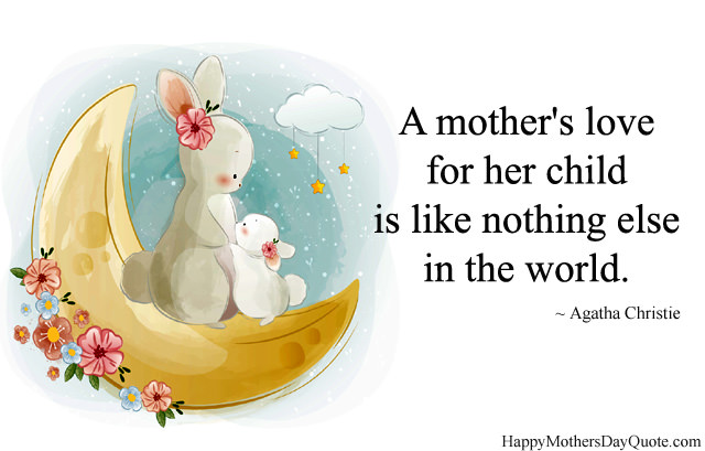 Mother Child Special Bond Quote