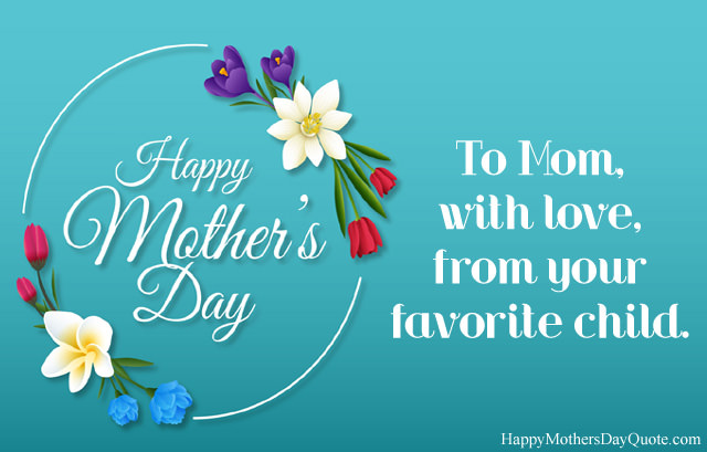 Mothers Day Love Wishes from Child to Mother