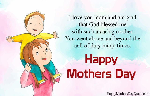 Mothers Day Quotes for Caring Mother