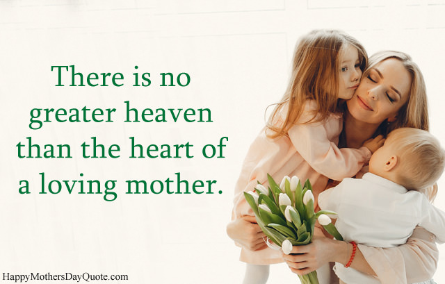 Quote about Mother with Children Picture