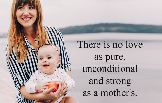 Strong as a Mother Quotes