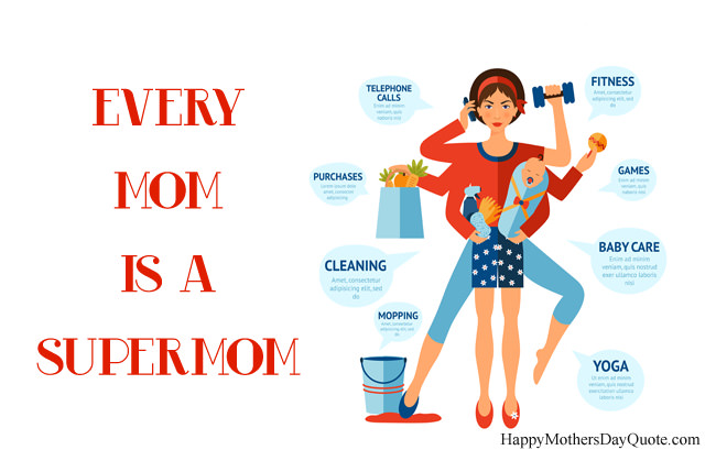 Supermom Images for Mother's Day